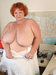 Fat mature naked